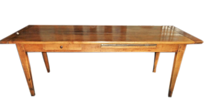 A French Cherrywood Farmhouse Table