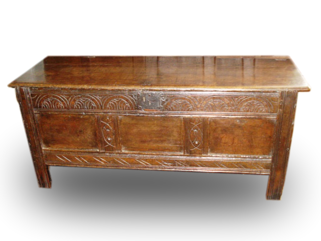 A William III Oak coffer