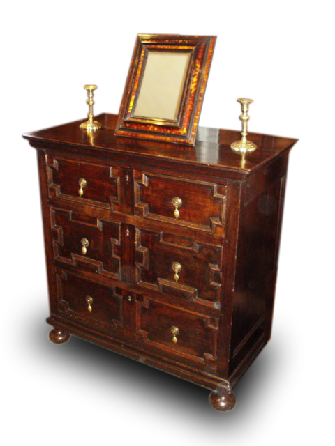 A William III Oak chest of drawers
