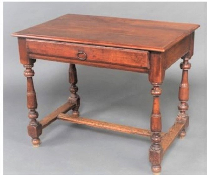 Late 18th C French side table